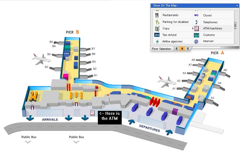 Prague Airport Map Prague Airport Birds Eye